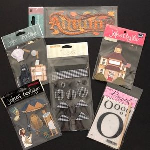 Other - SCRAPBOOKING LOT OF GOODIES!